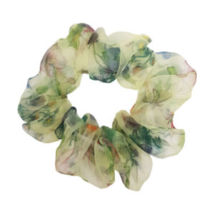 flower-organza-scrunchie